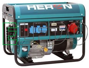 Elektrocentrála benzínová 13HP/6kW, pro svařování EGM 60 AVR-3
