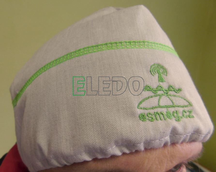 Lehká čepice chránící před účinky elektromagnetického záření a elektrického pole