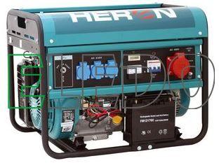 Elektrocentrála benzínová 13HP/6kW, pro svařování EGM 60 AVR-3E