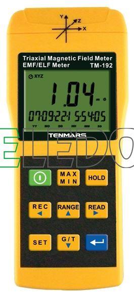 TENMARS TM-192 měřič elektrosmogu, nízkofrekvenční